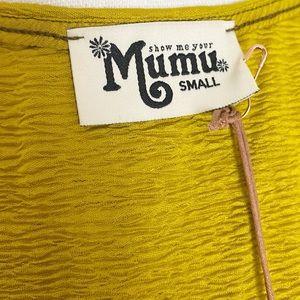 Show Me Your MuMu Tops - Show Me Your MuMu Trish Tie Crop Top